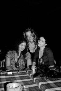 Kim, me and Calina