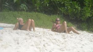 Shrone and me do beach