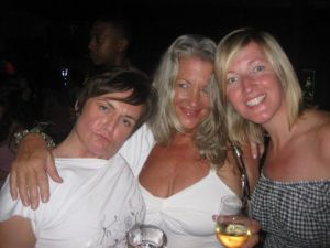 With Deb and Mel