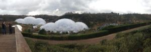 The Eden Project. It's warm in those domes.